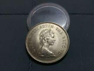 💥💥 Hong Kong Queen Elizabeth II 1979 $1 Coin. (UNC)