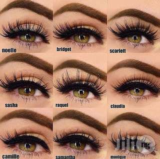 💄 Huda Beauty 3D Mink False Lashes , Falsies , False Eyelashes