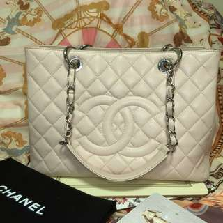 Chanel GST light pink bag