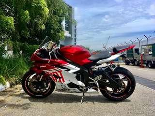 Yamaha R6 06-07 Fairing