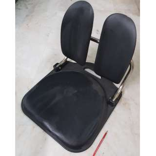 Floor Chair Back Support Portable Low Legless Tatami Style Folding Seat