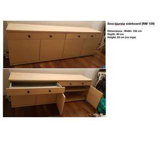 Ikea bjursta sideboard (RM 159)