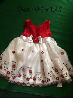 Red Dress for Baby