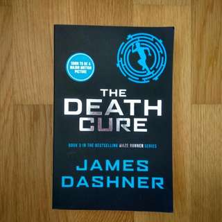 maze runner death cure james dashner good condition