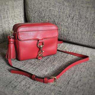 Rebecca Minkoff Camera Bag (Red)