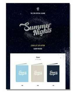 [PRE] TWICE - 2nd special album (Summer Nights)