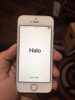 Apple iPhone 5s 32GB Secondhand White/Gold