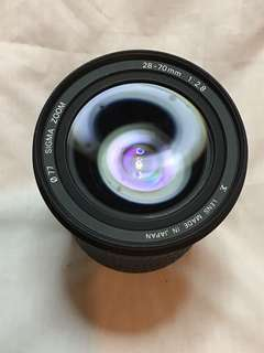 SIGMA 28-70mm f2.8 ASPH NIKON MOUNT