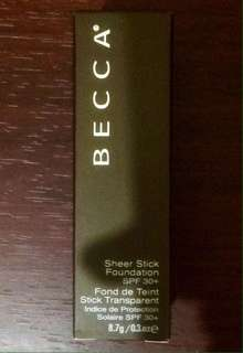 Becca Stick Foundation / Contour ( Original & New )