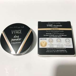 V face duo powder