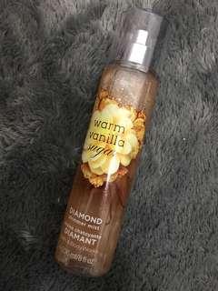 BBW Warm Vanilla Sugar (Shimmer Mist)