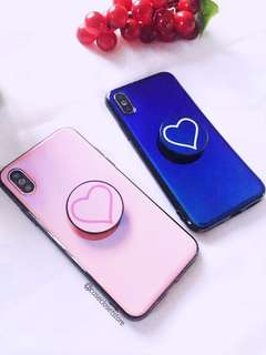 'Pure Heart' Style iPhone X Case