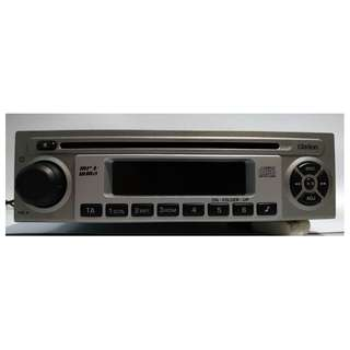 Headunit Car Stereo Clarion CD Player - Proton Saga FL (with original speakers)