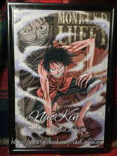 ONE PIECE - Framed Puzzle - Monkey D. Luffy