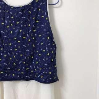 🚚 Maru.a百貨公司少女專櫃馬卡龍色繽紛無袖上衣
