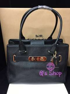 Coach bag swagger tote