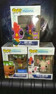 [PRE-ORDER] Hei Hei, Moana & Pua with Hei Hei Disney Exclusives Funko Pop Bundle