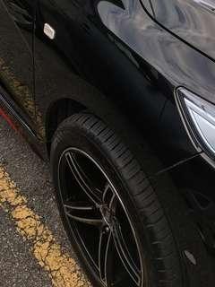"Rim 16"" 7.5JJ + Tyres(4)"