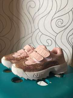 Fila blink shoes for baby girl pink