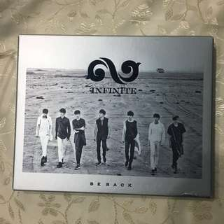 Infinite Be Back 專輯 連收據小卡 優鉉大卡