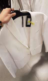 White Tux coat