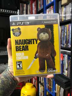 Naughty Bear Gold Edition PS3 PlayStation Sony game