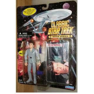 絕版 懷舊 1995年 Playmates Classic 星空奇遇 Star Trek Movie Series Dr. McCoy action figure 1款