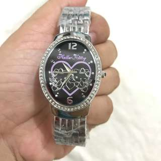 HELLO KITTY WATCH - Authentic