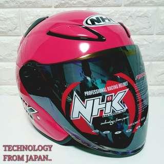 Nhk helmet pink