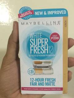 Maybelline No Touch-Up Powder Foundation