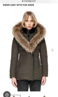 Green Mackage Winter Coat