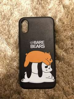 We Bare Bears iPhone X Phone Case