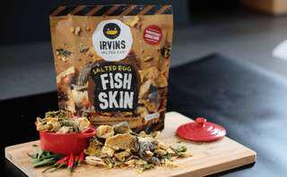 IRVINS SALTED EGG - FISH SKIN