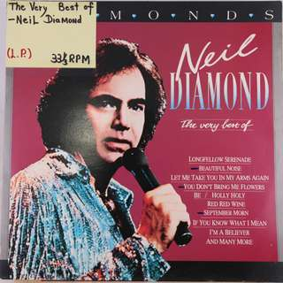 "(1985) The Very Best of Neil Diamond Compilation 12"" Vinyl Record Gatefold Album (2 X LP) ADEH 196 (Stereo) Diamonds – 24 Welterfolge"