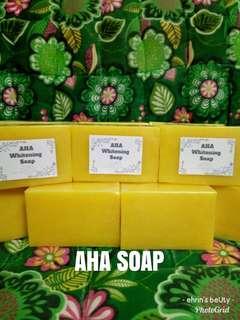 Organic Soap/ AHA whitening soap