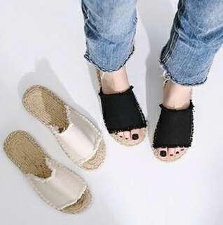 Z▪草編涼鞋▪
