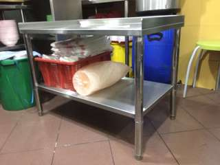 Commercial Stainless Steel Table