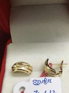 18K Saudi Hild Earring