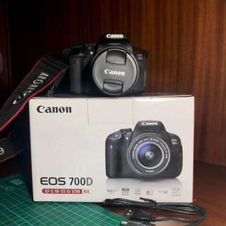 Canon eos 700d IS STM