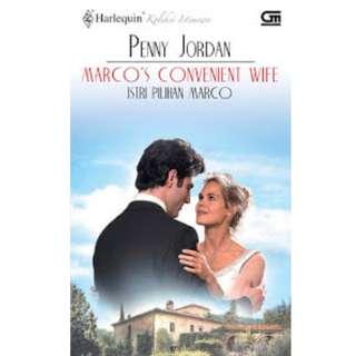 Ebook Istri Pilihan Marco (Marco's Convenient Wife) - Penny Jordan
