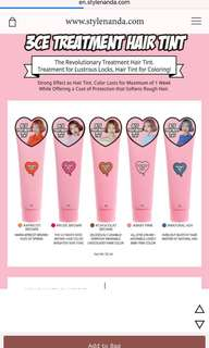 3CE Treatment Hair Tint (rosebrown)