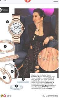 Cartier Watches  Worn by Kris A.