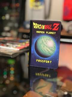 dragon ball passport cover