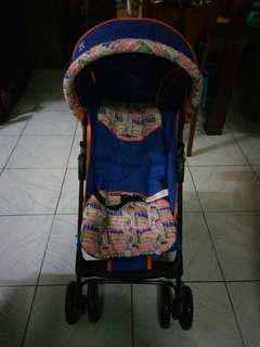 Picolo stroller brand new with plastic