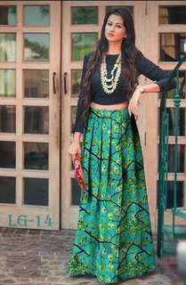 Indo Western Tops&Skirts (Free Postage