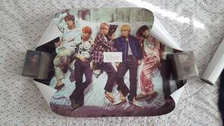 BTS Official Wings Album Poster
