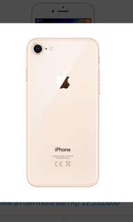 IPhone 8 256gb gold New Kredit Proses Singkat