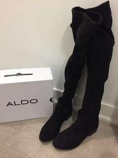 Aldo long boots size 6