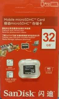 MicroSD 記憶卡 32GB