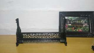 Antique Wooden frame picture(Both sides)